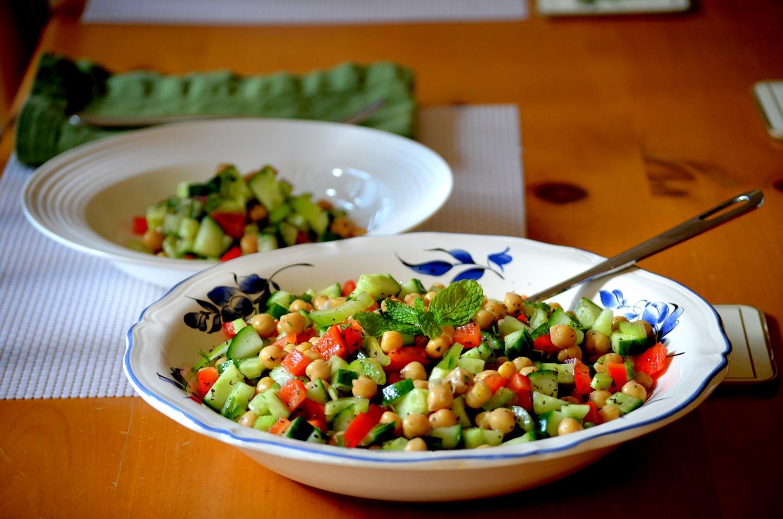 Mint & Chickpea Salad