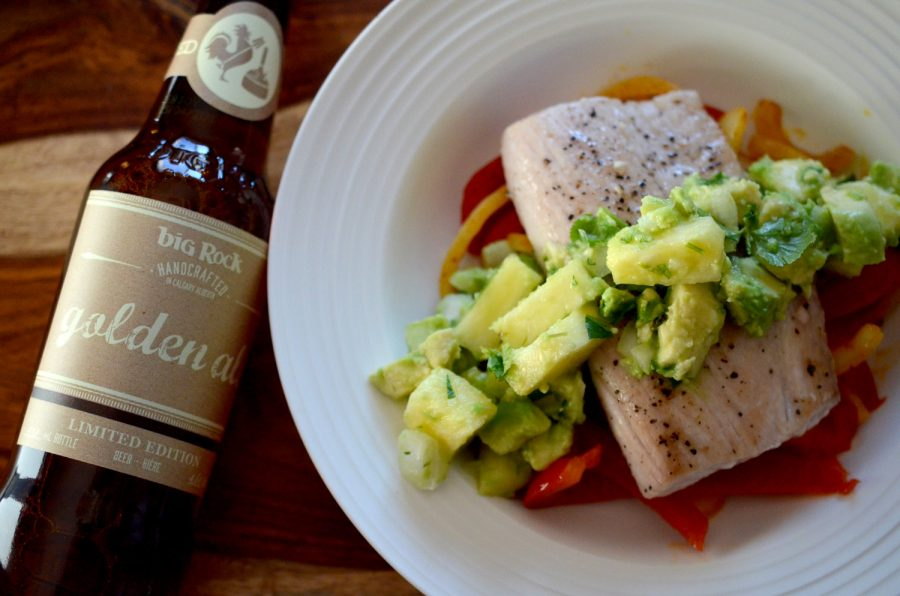 Mahi Mahi with Tropical Salsa