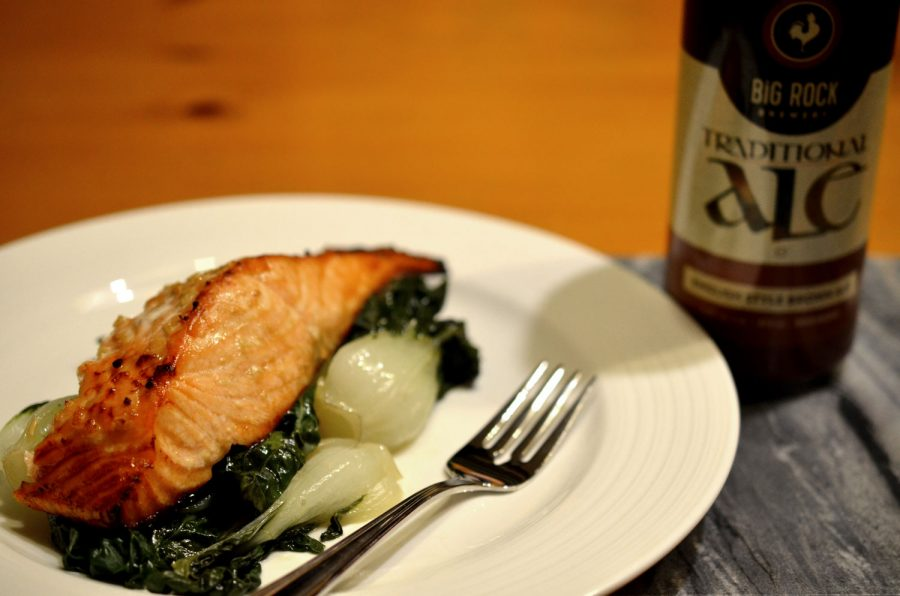 Beer Marinated Salmon