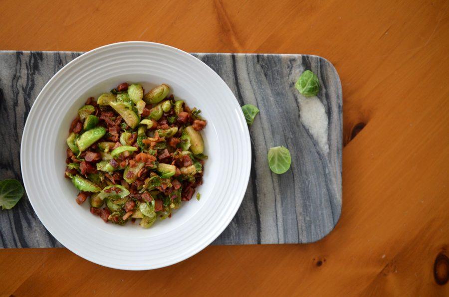 Sautéed Pancetta & Brussel Sprouts