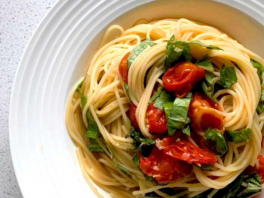 Roasted Tomato Spaghettini