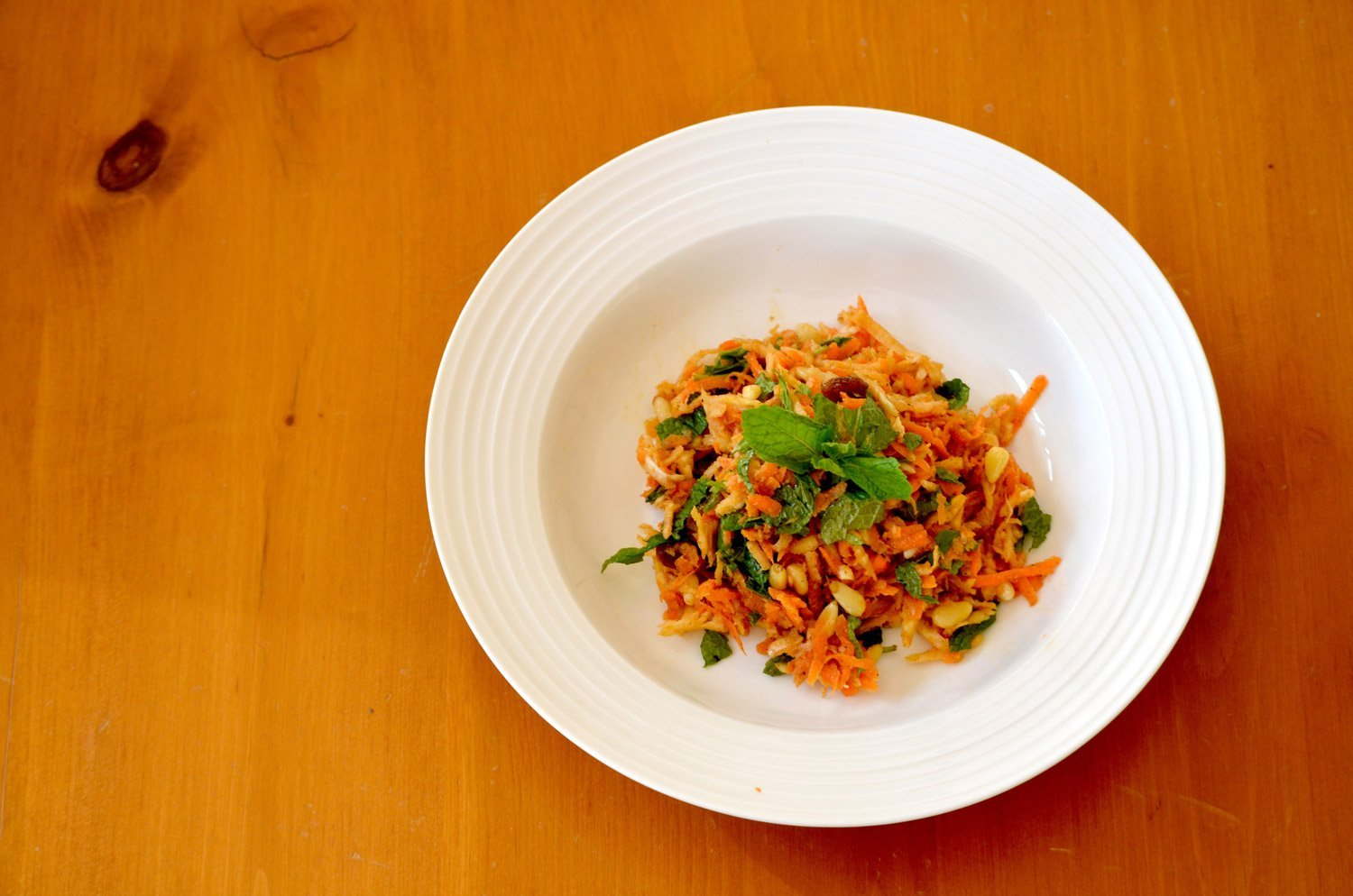 Moroccan-style Carrot & Parsnip Salad
