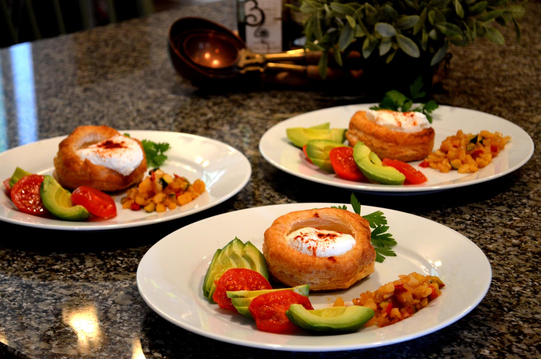 Poached Egg Vol-au-vents