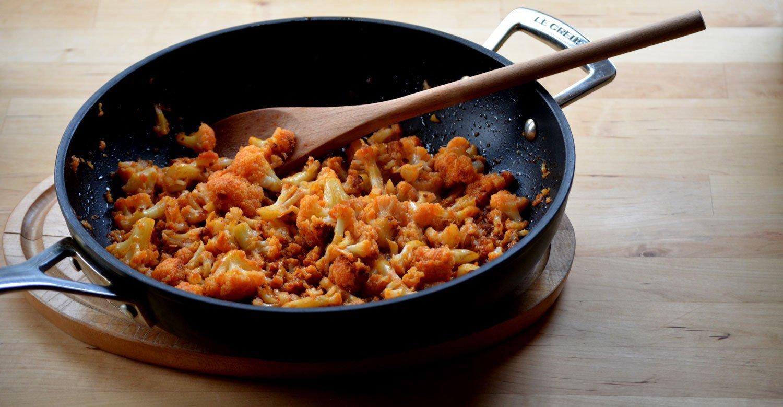 Sweet & Smoky Caramelized Cauliflower