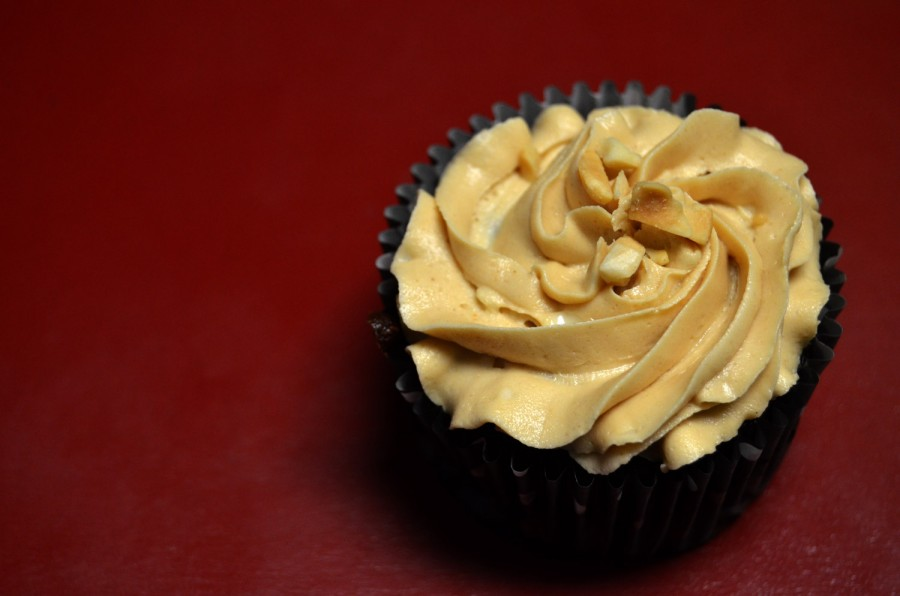 Quinoa Chocolate Cupcakes with Peanut Butter Icing