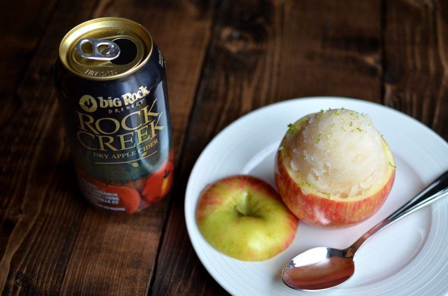 Apple Cider Sorbet