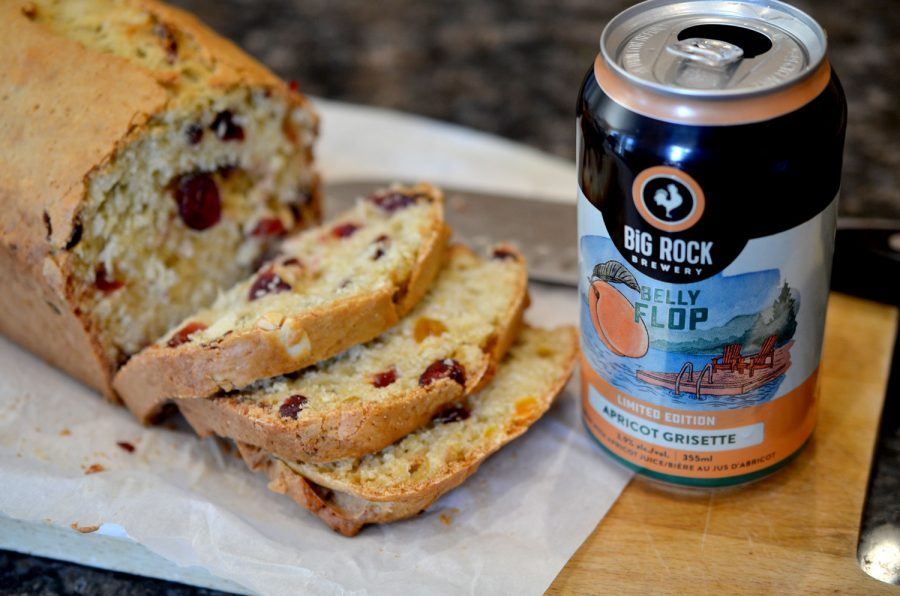 Cranberry Apricot Nut Loaf